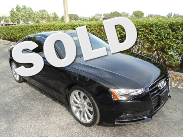 2013 Audi A5 Coupe Premium Plus This 2013 AUDI A5 COUP 20 quattro is a 1-owner non-smoker flo