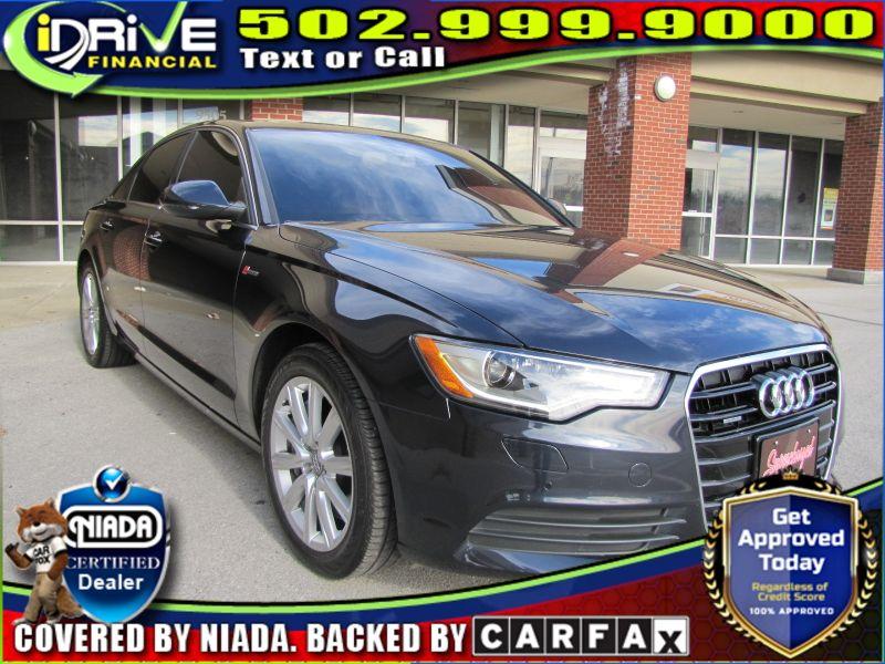 2013 Audi A6 3.0T Premium Plus   Louisville, Kentucky   iDrive Financial in Louisville Kentucky