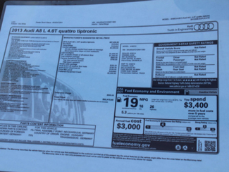 2013 Audi A8 40L L  in Las Vegas, NV