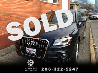 2013 Audi Q5 3.0T 272 HP V6 Quattro Prestige S-Line Technology DVD Bang & Olufsen Packages Seattle, Washington