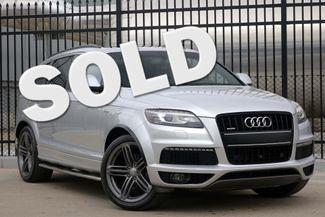 2013 Audi Q7 3.0T * S-Line * PRESTIGE * Tech Pkg * PANO ROOF Plano, Texas