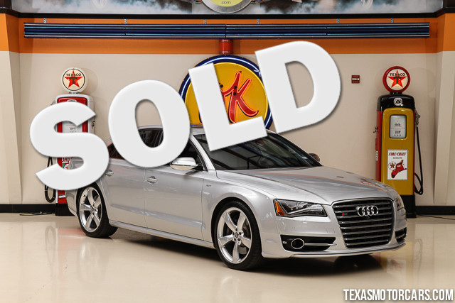 2013 Audi S8 This Carfax 1-Owner 2013 Audi S8 is in great shape with only 25 828 miles The S8 ha