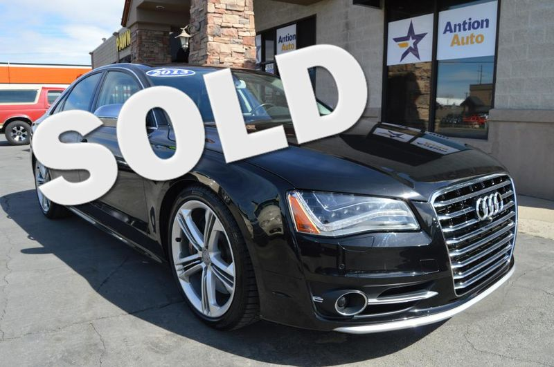 2013 Audi S8 QUATTRO | Bountiful, UT | Antion Auto in Bountiful UT