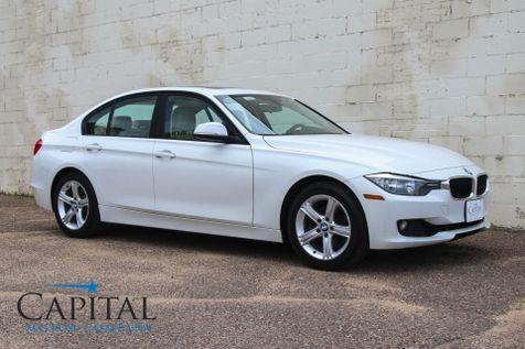 2013 BMW 328xi xDrive AWD Sport Sedan w/Heated Seats, Moonroof, Hifi Audio and Bluetooth in Eau Claire