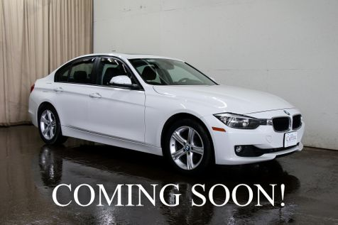 2013 BMW 328xi xDrive AWD w/Heated Seats, Moonroof, HiFi Audio System and Gets 33 MPG in Eau Claire