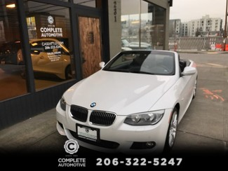 2013 BMW 335i Convertible M Sport Convenience Cold Weather