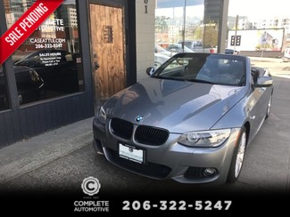 2013 BMW 335i Convertible M Sport Navigation Heated Seats  Premium Pkg Only 19,000 Miles Warranty March 2018  in Seattle