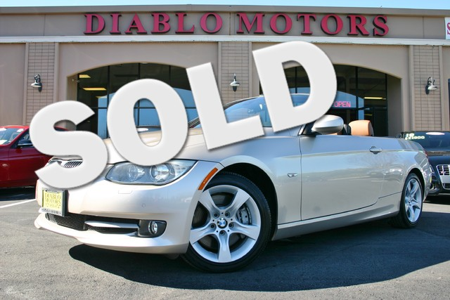 2013 BMW 335i Hardtop Convertible with Premium and Navigation in San Ramon, California