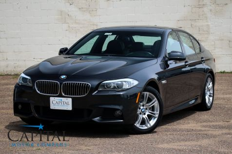 2013 BMW 528xi xDrive AWD M-SPORT with Navigation, Heated F/R Seats, Keyless Start and 18-Inch Wheels in Eau Claire