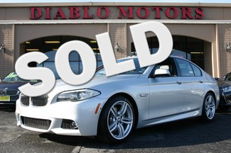 2013 BMW 535is 535i M-Sport Sedan with M-Sport, Premium, and Navigation San Ramon, California