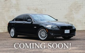 2013 BMW 535xi xDrive AWD w/Navigationi, Heated F/R Seats, in Eau Claire, Wisconsin
