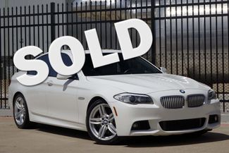 2013 BMW 550i M-SPORT * Executive Pkg * LUX SEATING * Heads-Up Plano, Texas