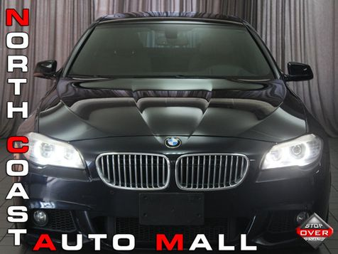 2013 BMW 550i xDrive M SPORT EXECUTIVE COLD WEATHER PACKAGE in Akron, OH
