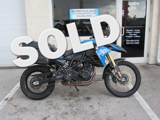 2013 BMW F800GS Standard Dania Beach, Florida