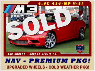 2013 BMW M Models M3 RWD - PREMIUM PKG - NAVIGATION! Mooresville , NC