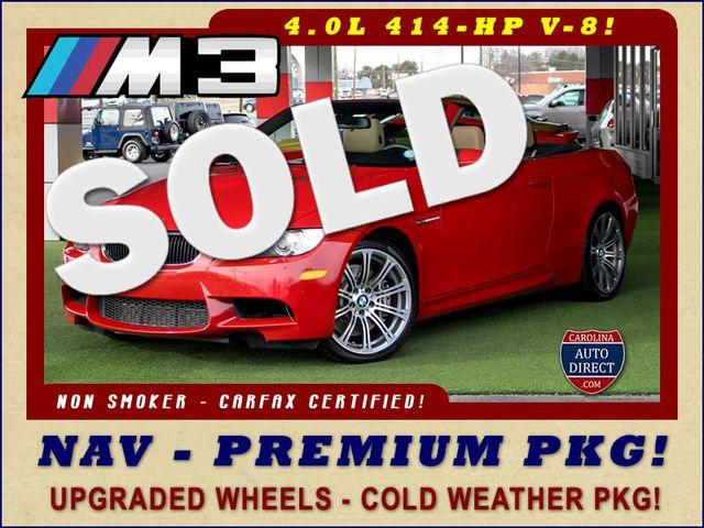 2013 BMW M Models M3 RWD - PREMIUM PKG - NAVIGATION! Mooresville , NC 0