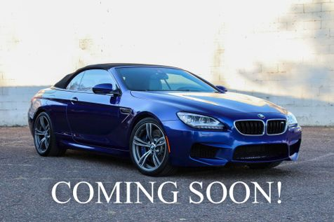 2013 BMW M6 Executive Convertible with 560HP Twin Turbo V8 Navigation, Bang & Olufsen Audio & 20