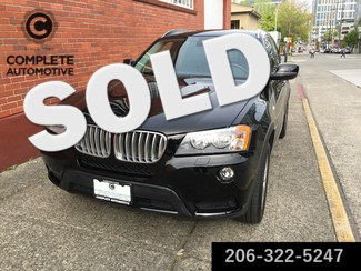 2013 BMW X3 xDrive28i All Wheel Drive Cold Weather Technology Premium Packages MSRP Was $48,645 Seattle, Washington