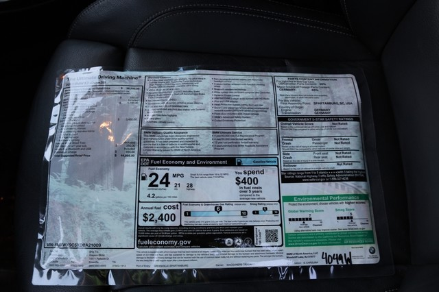 2013 BMW X3 xDrive28i Mooresville, North Carolina 34
