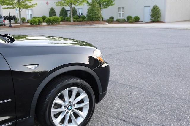 2013 BMW X3 xDrive28i Mooresville, North Carolina 78
