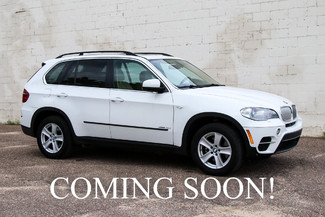 2013 BMW X5 xDrive35d AWD Diesel SUV w/Navigation, Backup Cam, Heated Front & Rear Seats & Bluetooth Audio in Eau Claire