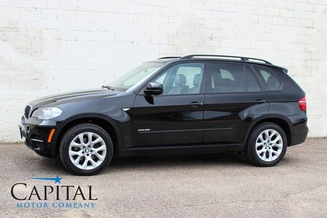 2013 BMW X5 xDrive35i AWD Sport Luxury SUV w/3rd Row Seats, Heated Seats, Panoramic Roof and Bluetooth Audio in Eau Claire
