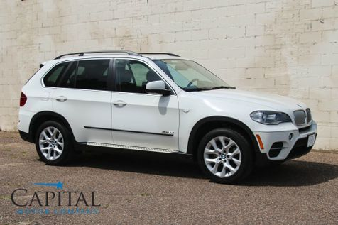 2013 BMW X5 xDrive35i Premium AWD Luxury Sport SUV with Navigation, Panoramic Roof & 3rd Row Seats in Eau Claire