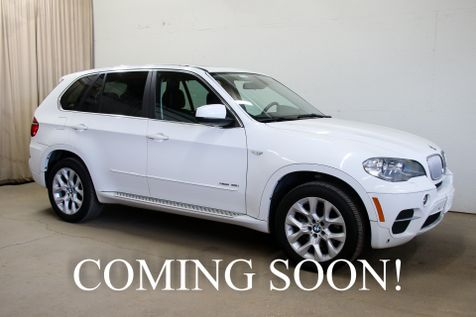 2013 BMW X5 xDrive35i Premium AWD SUV with Navigation, Cold Weather Pkg, Bluetooth Audio & 19-Inch Wheels in Eau Claire