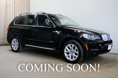 2013 BMW X5 xDrive35i AWD Luxury SUV with Tech Pkg, Navigation, Heated Seats & 3rd Row Seats in Eau Claire