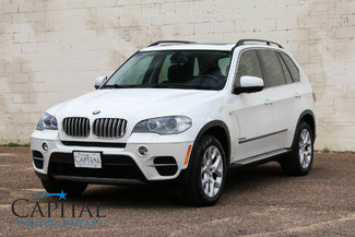 2013 BMW X5 xDrive35i Premium AWD SUV w/Navigation, Backup Cam, Gorgeous 2-Tone Interior & Low Miles in Eau Claire