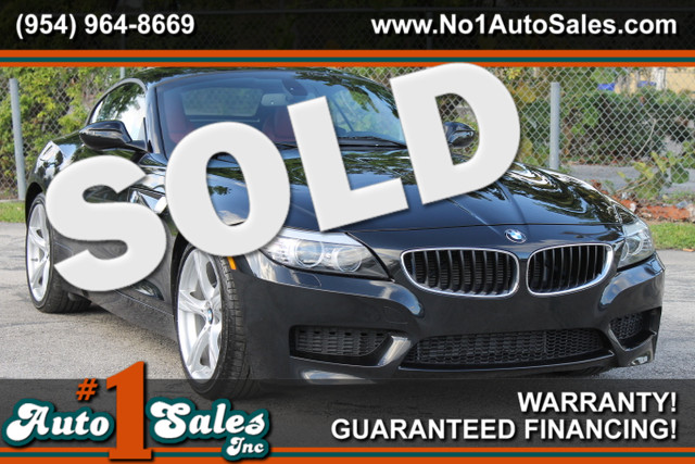 2013 BMW Z4 sDrive28i  FACTORY WARRANTY CARFAX CERTIFIED AUTOCHECK CERTIFIED 1 OWNER FLORID