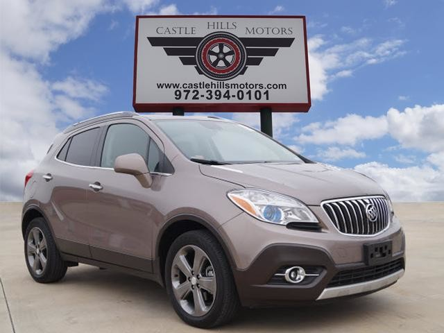 2013 Buick Encore Leather, Sunroof, Hot Seats, Back Cam | Lewisville, Texas | Castle Hills Motors in Lewisville Texas