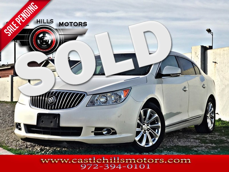2013 Buick LaCrosse **INCLUDES 2 YRS FREE MAINTENANCE** Leather - Hot Seats, Bluetooth, Back Cam in Lewisville Texas