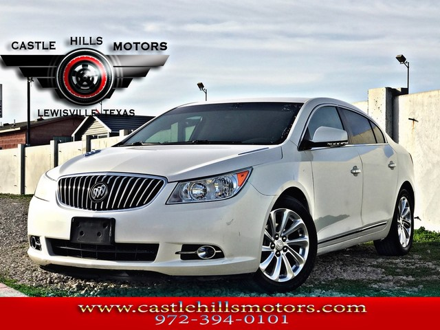 2013 Buick LaCrosse **INCLUDES 2 YRS FREE MAINTENANCE** Leather - Hot Seats, Bluetooth, Back Cam | Lewisville, Texas | Castle Hills Motors in Lewisville Texas