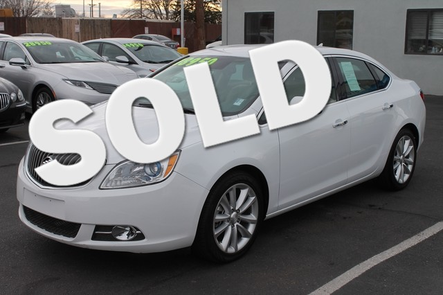 2013 Buick Verano Convenience Group Low miles indicate the vehicle is merely gently used You Win