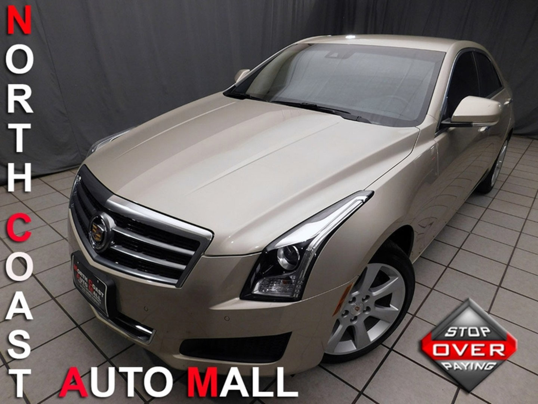 2013 Cadillac Ats Luxury City Ohio North Coast Auto Mall
