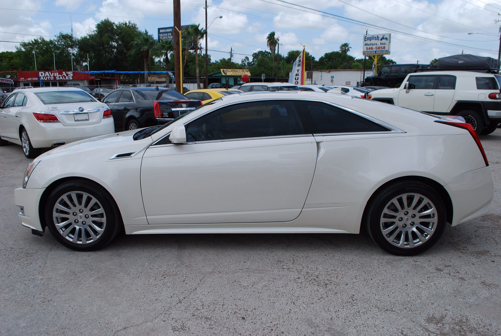 2013 cadillac cts coupe performance brownsville tx english motors. Black Bedroom Furniture Sets. Home Design Ideas