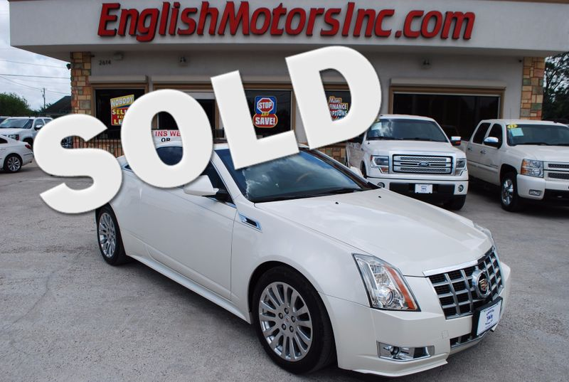 2013 Cadillac CTS Coupe Performance  Brownsville TX  English Motors  in Brownsville, TX