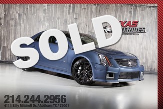 2013 Cadillac CTS-V Sedan Stealth Blue Edition in Addison