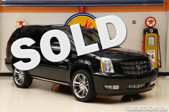 2013 Cadillac Escalade Premium This Carfax 1-Owner 2013 Cadillac Escalade Premium is in great shap