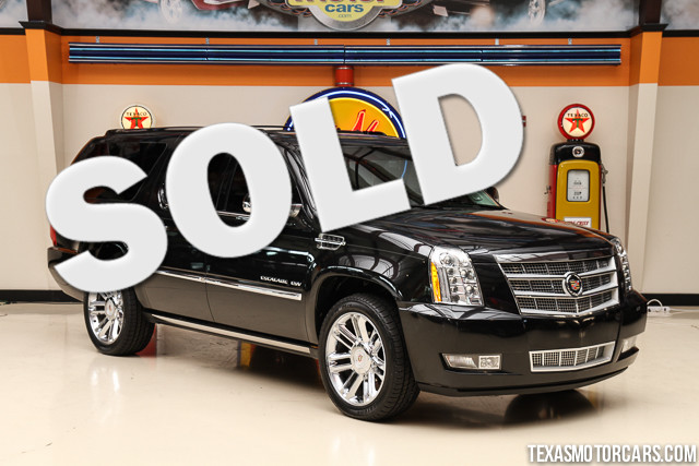2013 Cadillac Escalade ESV Platinum Edition Financing is available with rates as low as 29 wac