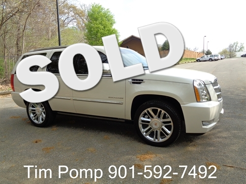 2013 Cadillac Escalade Platinum Edition in Memphis Tennessee