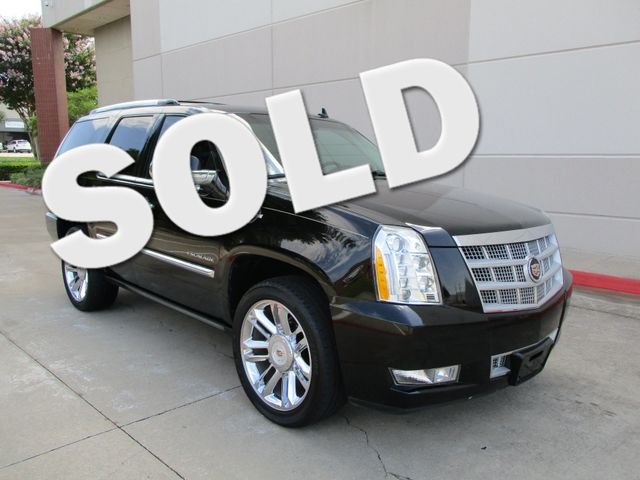 2013 Cadillac Escalade Platinum Edition Plano, Texas 0