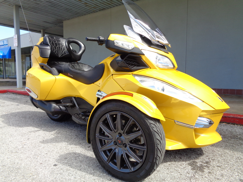 2013 Can-Am Spyder RT-S  SE5  Oklahoma  Action PowerSports  in Tulsa, Oklahoma