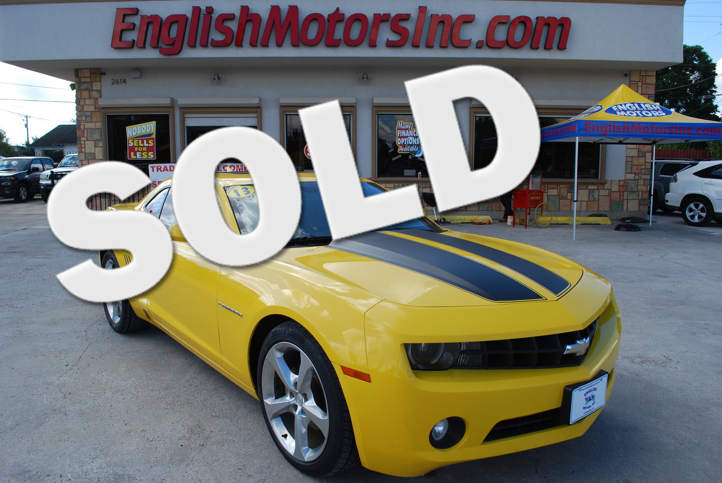 2013 chevrolet camaro lt brownsville tx english motors English motors inc