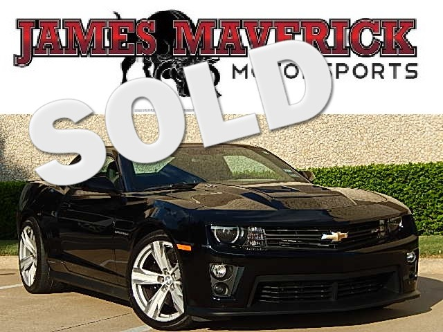 2013 Chevrolet Camaro ZL1 BRAND NEW IN THE BOX AND A VERY WELL DESIGNED AND BUILT VEHICLE Superc