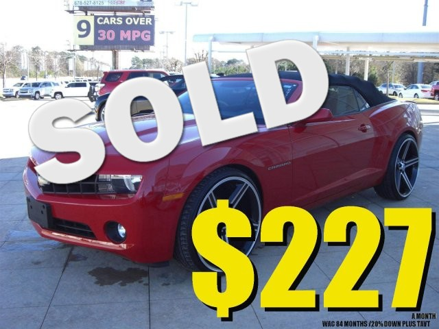 2013 Chevrolet Camaro LT SUPER SHARP VEHICLE CLEAN INSIDE AND OUT LOW MILES20 000 MILES VIN