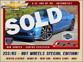 2013 Chevrolet Camaro SS 2SS RS  HOT WHEELS SPECIAL EDITION Mooresville , NC