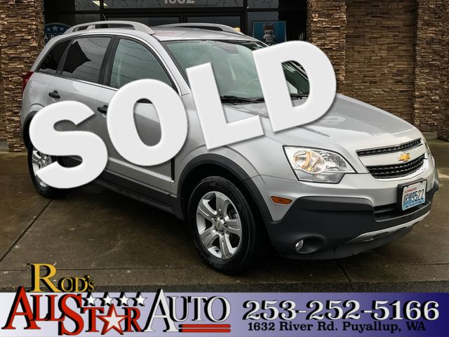 2013 Chevrolet Captiva Sport Fleet LS The CARFAX Buy Back Guarantee that comes with this vehicle m