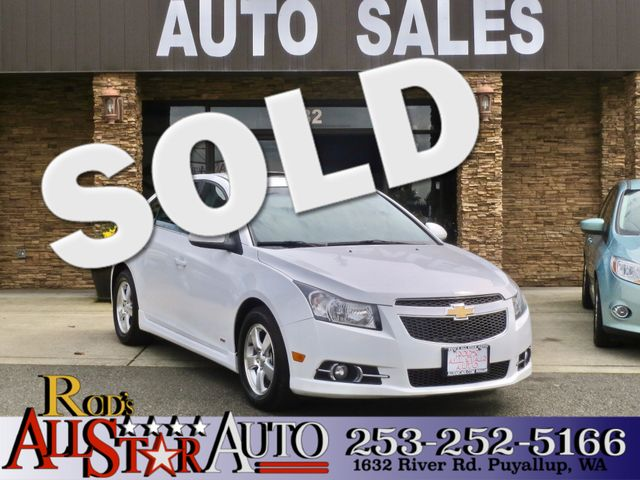 2013 Chevrolet Cruze LT RS Our 2013 used Chevrolet Cruze has been fully detailed safety checked
